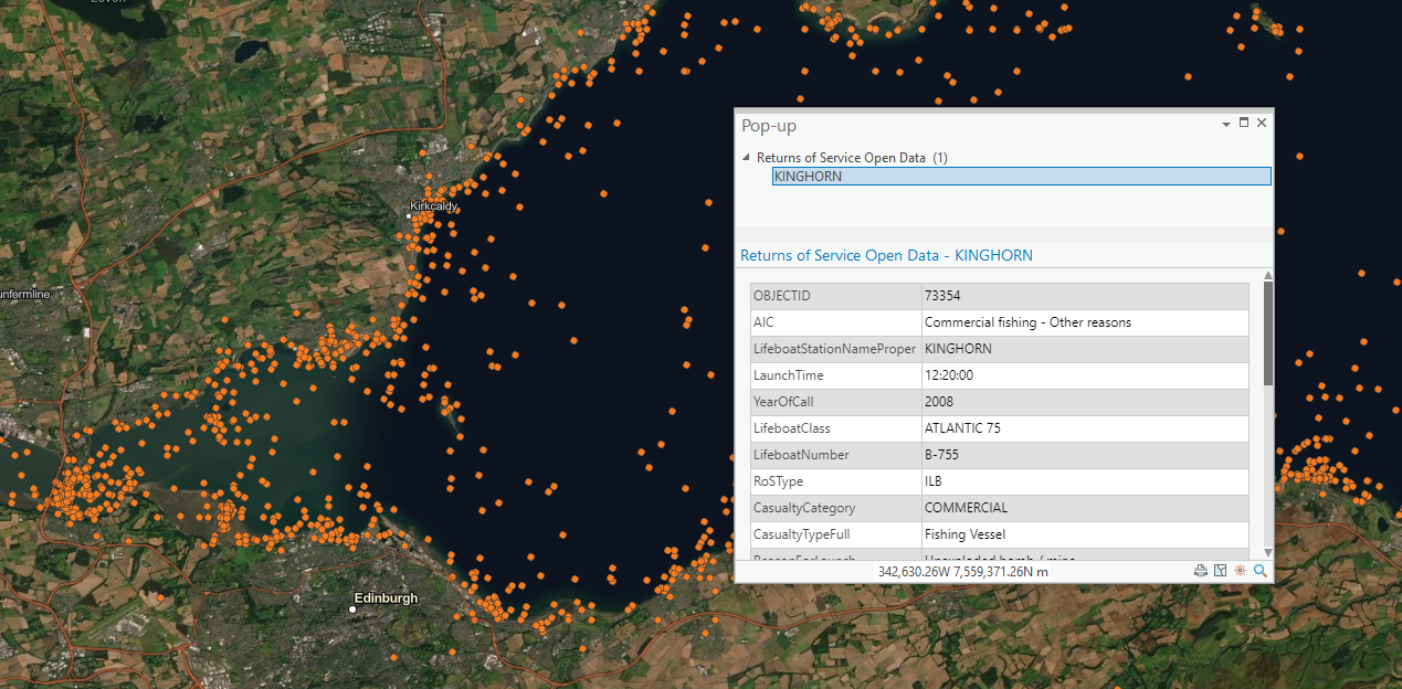 New look pop-up in ArcGIS Pro