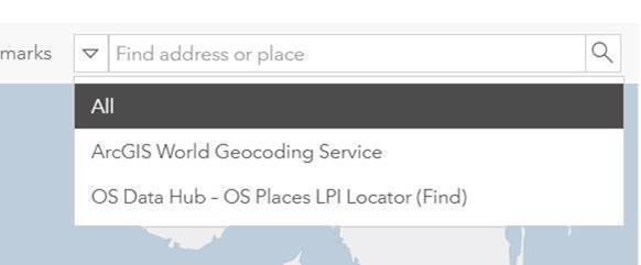 Screenshot of OS API Connector set up