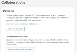 Starting a partnered collaboration dialog