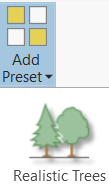 ArcGIS Pro Add Preset tool