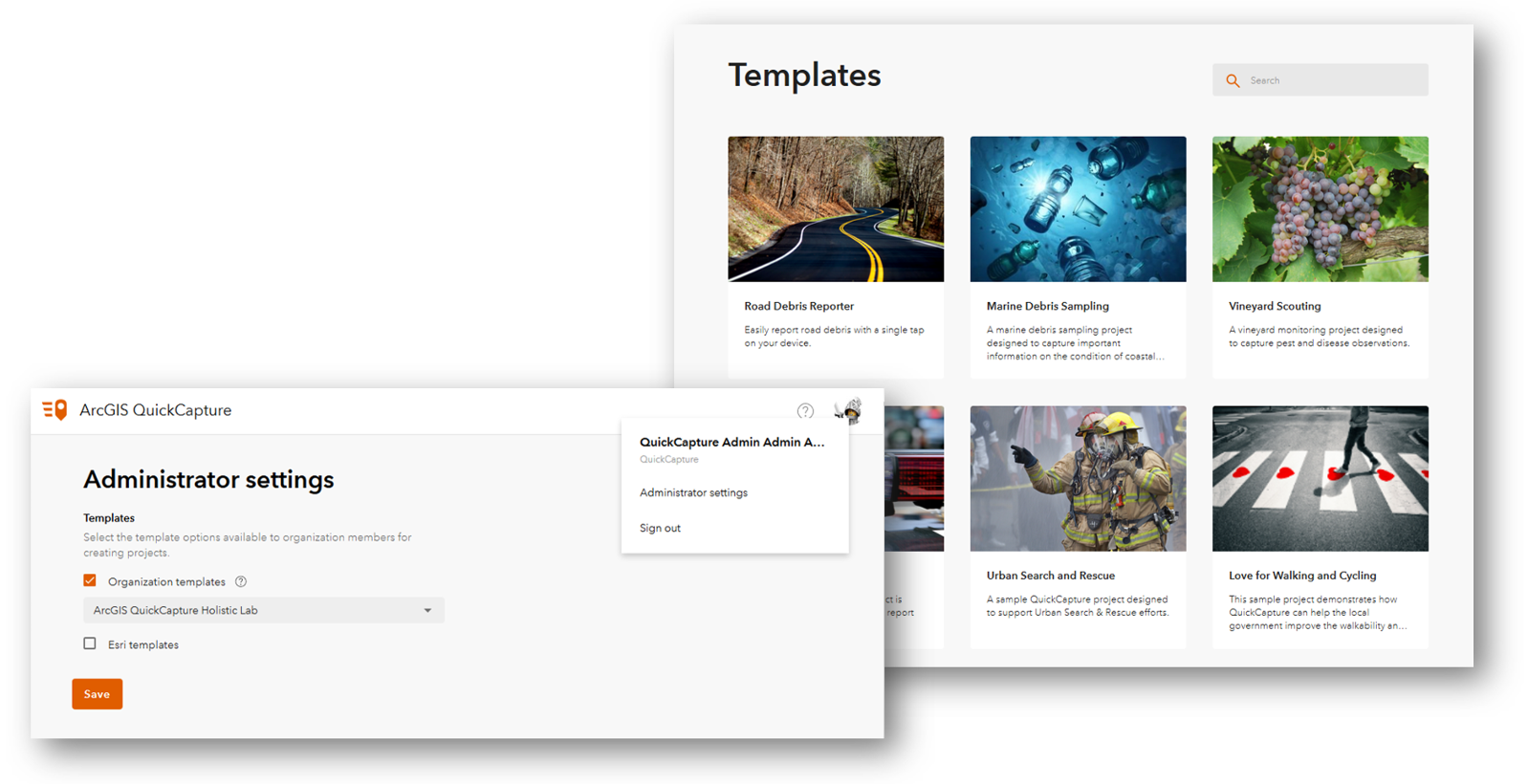 Image of QuickCapture Templates