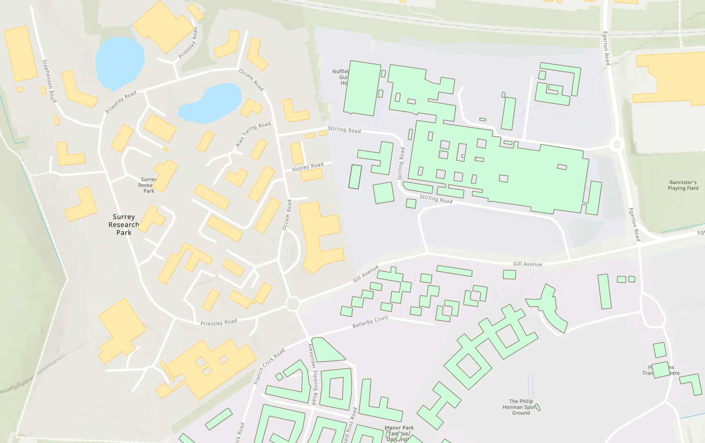 OS OpenMap Local buildings and Important Buildings available in the ArcGIS Living Atlas.