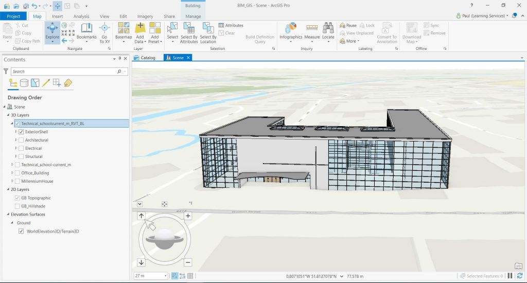 ArcGIS Pro Building Layer