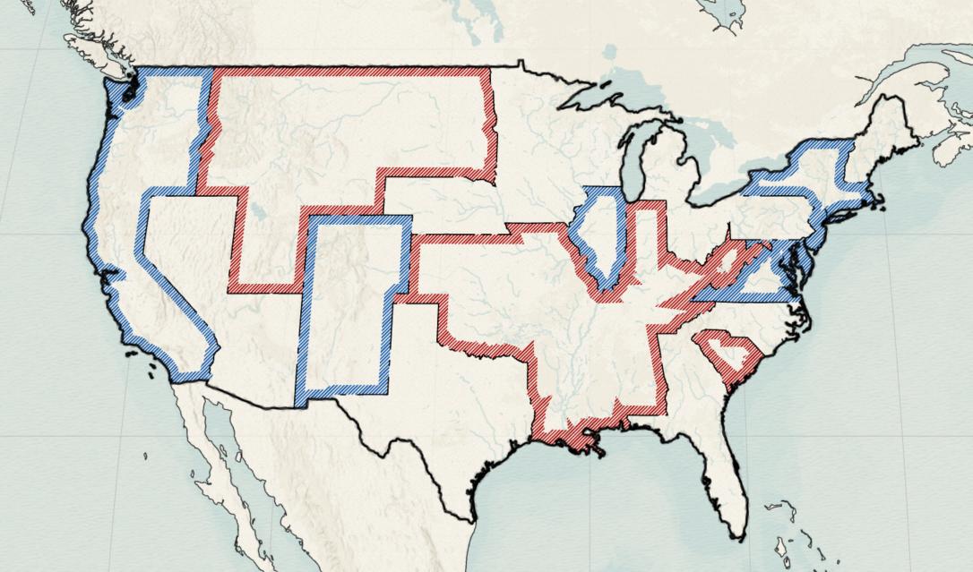 intermediate version of western election