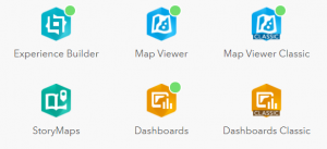 ArcGIS Dashboards and ArcGIS Dashboards Classic in the app launcher